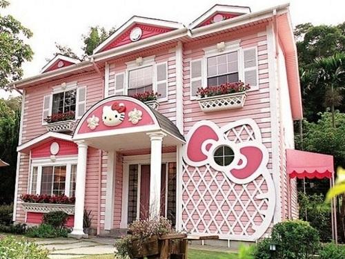 Casas inspiradas em desenhos e personagens
