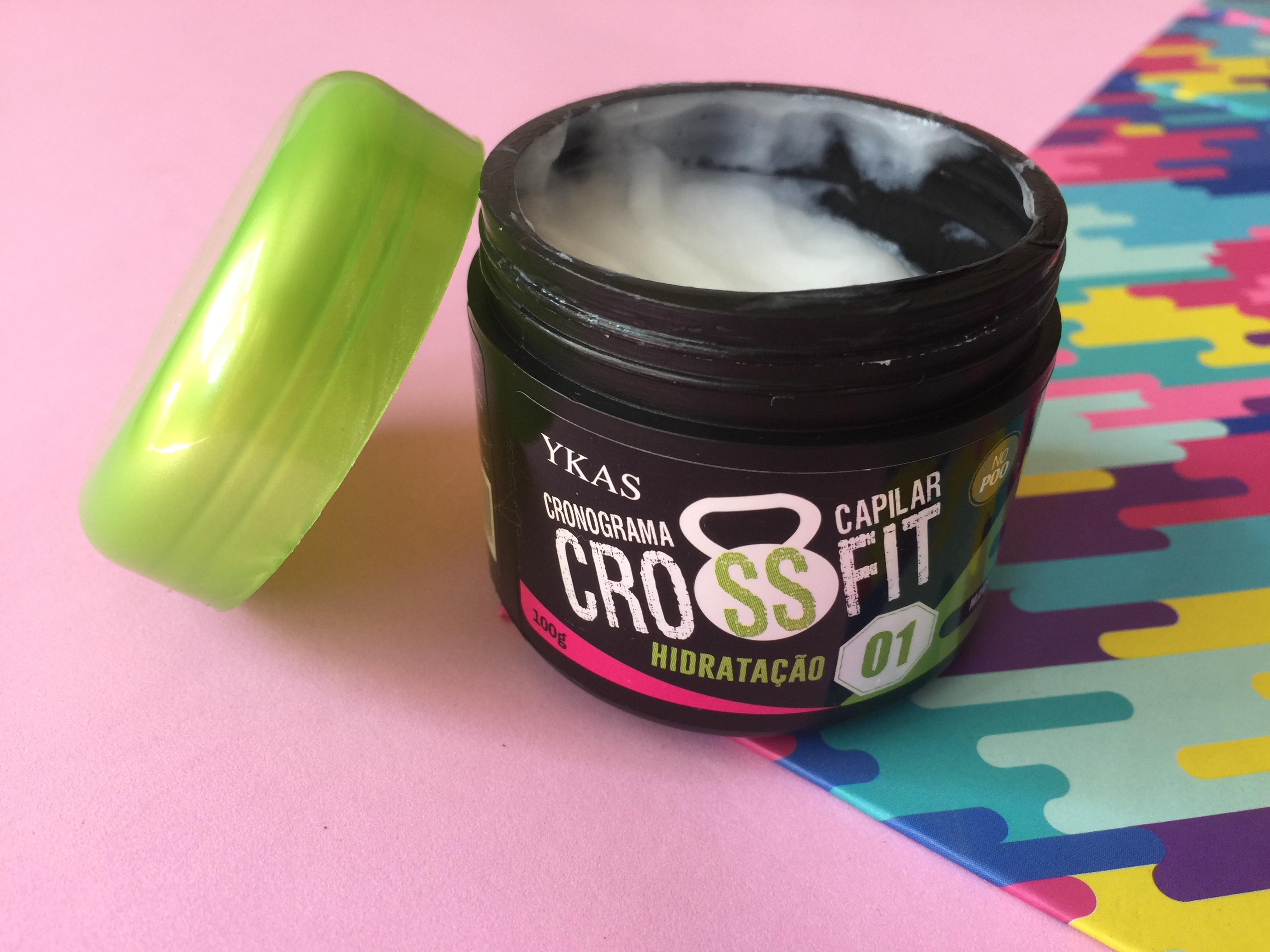 CrossFit Ykas Cronograma Capilar | Eu testei!