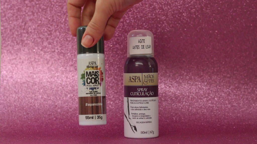 Esmalte Spray Aspa | Eu testei!